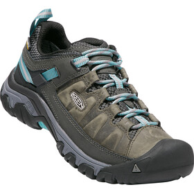 Keen Targhee III WP Shoes Damen alcatraz/blue turquoise